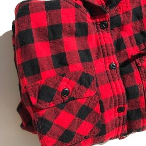 Buffalo Plaid Lined Flannel